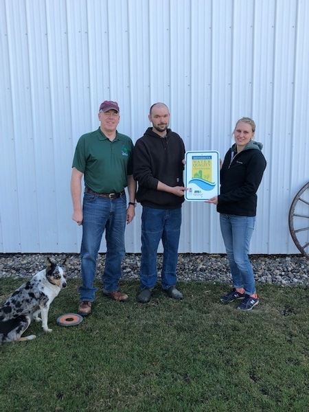 Blickenstaff Dairy Becomes Water Quality Certified