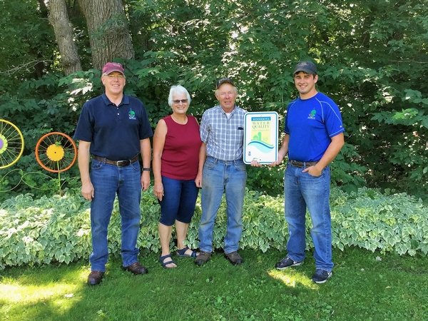 Local father-son farmers get Water Quality Certified