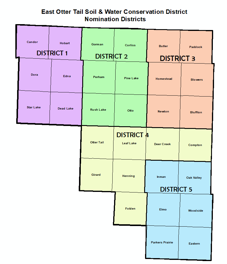 Nomination District Map